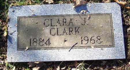 CLARK, CLARA J - Calhoun County, Michigan | CLARA J CLARK - Michigan Gravestone Photos