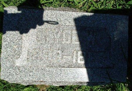 CLARK, CLYDE W. - Calhoun County, Michigan   CLYDE W. CLARK - Michigan Gravestone Photos
