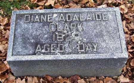 CLARK, DIANE ADALAIDE - Calhoun County, Michigan   DIANE ADALAIDE CLARK - Michigan Gravestone Photos