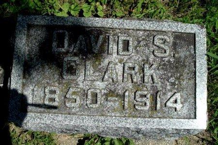 CLARK, DAVID S. - Calhoun County, Michigan | DAVID S. CLARK - Michigan Gravestone Photos