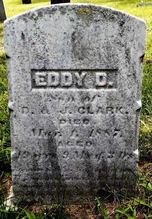 CLARK, EDDY D - Calhoun County, Michigan | EDDY D CLARK - Michigan Gravestone Photos