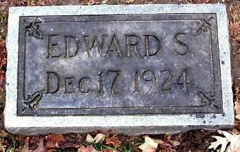 CLARK, EDWARD S - Calhoun County, Michigan   EDWARD S CLARK - Michigan Gravestone Photos