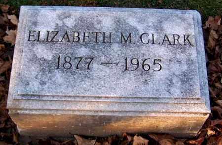 CLARK, ELIZABETH M - Calhoun County, Michigan | ELIZABETH M CLARK - Michigan Gravestone Photos