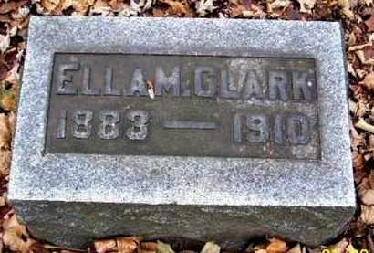 CLARK, ELLA M - Calhoun County, Michigan | ELLA M CLARK - Michigan Gravestone Photos