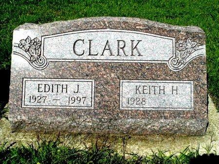 CLARK, EDITH J. - Calhoun County, Michigan | EDITH J. CLARK - Michigan Gravestone Photos