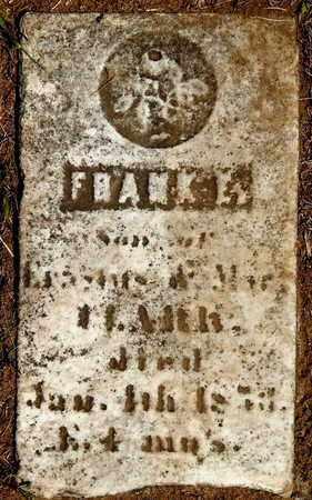 CLARK, FRANK E - Calhoun County, Michigan | FRANK E CLARK - Michigan Gravestone Photos
