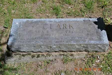 CLARK, CLARA B. - Calhoun County, Michigan | CLARA B. CLARK - Michigan Gravestone Photos