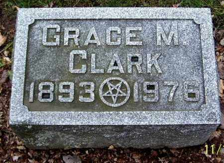 CLARK, GRACE M - Calhoun County, Michigan | GRACE M CLARK - Michigan Gravestone Photos