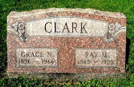 CLARK, GRACE N. - Calhoun County, Michigan | GRACE N. CLARK - Michigan Gravestone Photos