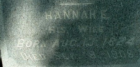 CLARK, HANNAH E. - Calhoun County, Michigan | HANNAH E. CLARK - Michigan Gravestone Photos