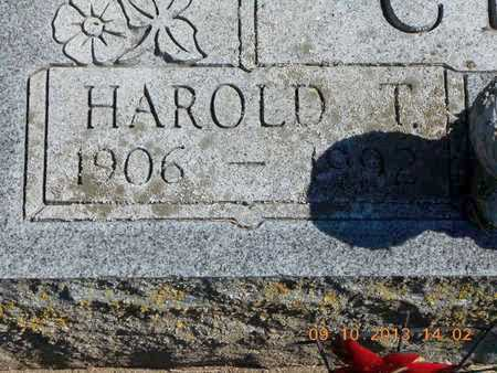 CLARK, HAROLD T. - Calhoun County, Michigan   HAROLD T. CLARK - Michigan Gravestone Photos