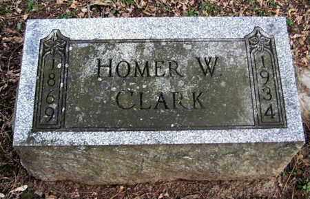 CLARK, HOMER W - Calhoun County, Michigan | HOMER W CLARK - Michigan Gravestone Photos