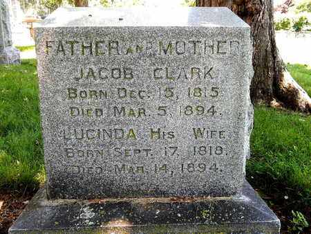 CLARK, JACOB - Calhoun County, Michigan | JACOB CLARK - Michigan Gravestone Photos