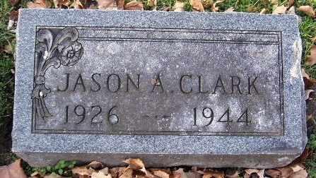 CLARK, JASON A - Calhoun County, Michigan | JASON A CLARK - Michigan Gravestone Photos