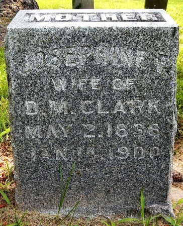 CLARK, JOSEPHINE - Calhoun County, Michigan | JOSEPHINE CLARK - Michigan Gravestone Photos