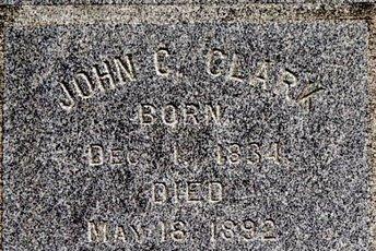 CLARK, JOHN C - Calhoun County, Michigan | JOHN C CLARK - Michigan Gravestone Photos