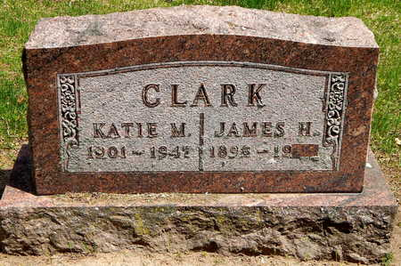 CLARK, JAMES H - Calhoun County, Michigan | JAMES H CLARK - Michigan Gravestone Photos