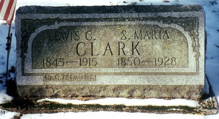 CLARK, SALLY M. - Calhoun County, Michigan | SALLY M. CLARK - Michigan Gravestone Photos