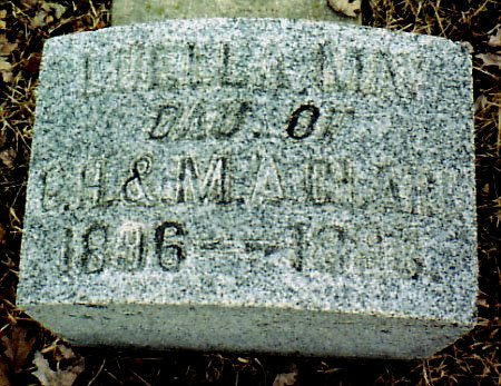 CLARK, LUELLA MAY - Calhoun County, Michigan | LUELLA MAY CLARK - Michigan Gravestone Photos