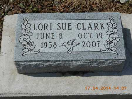 CLARK, LORI SUE - Calhoun County, Michigan | LORI SUE CLARK - Michigan Gravestone Photos