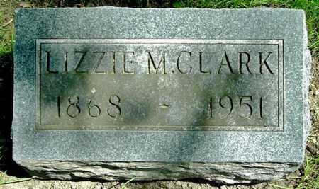 CLARK, LIZZIE M. - Calhoun County, Michigan   LIZZIE M. CLARK - Michigan Gravestone Photos
