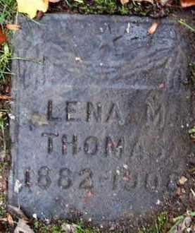 CLARK, LENA M - Calhoun County, Michigan | LENA M CLARK - Michigan Gravestone Photos