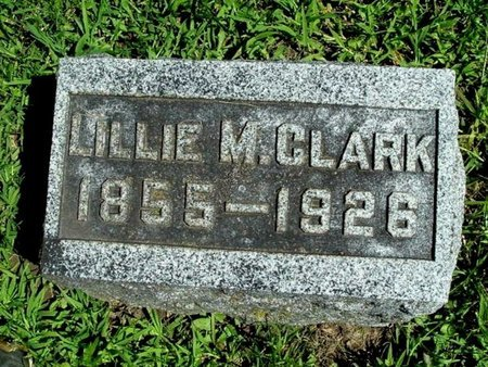 CLARK, LILLIAN M. - Calhoun County, Michigan | LILLIAN M. CLARK - Michigan Gravestone Photos