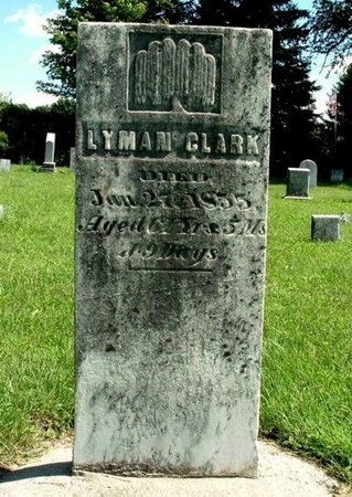 CLARK, LYMAN - Calhoun County, Michigan | LYMAN CLARK - Michigan Gravestone Photos
