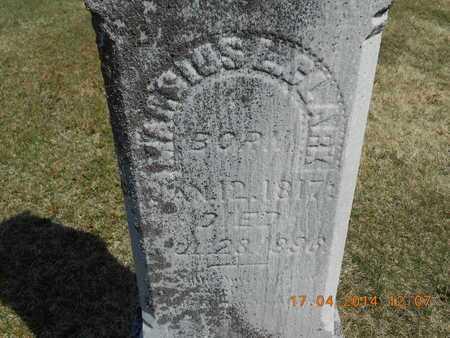 CLARK, MARCIUS L. - Calhoun County, Michigan   MARCIUS L. CLARK - Michigan Gravestone Photos