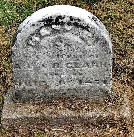 CLARK, MARY E - Calhoun County, Michigan | MARY E CLARK - Michigan Gravestone Photos