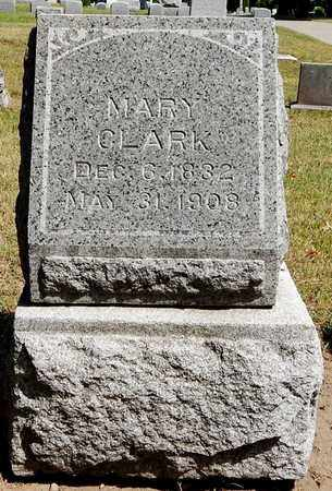 CLARK, MARY A. - Calhoun County, Michigan | MARY A. CLARK - Michigan Gravestone Photos