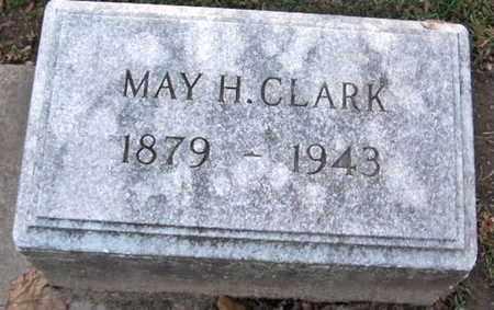 CLARK, MAY H - Calhoun County, Michigan | MAY H CLARK - Michigan Gravestone Photos