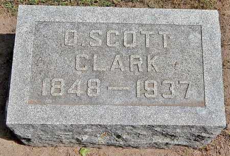 CLARK, O. SCOTT - Calhoun County, Michigan | O. SCOTT CLARK - Michigan Gravestone Photos