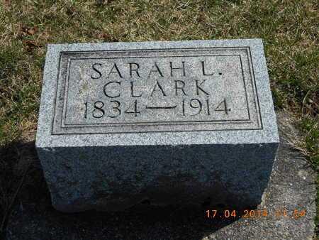CLARK, SARAH L. - Calhoun County, Michigan   SARAH L. CLARK - Michigan Gravestone Photos