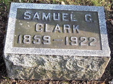 CLARK, SAMUEL G. - Calhoun County, Michigan | SAMUEL G. CLARK - Michigan Gravestone Photos