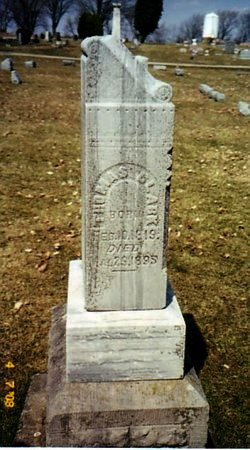 CLARK, THOMAS - Calhoun County, Michigan | THOMAS CLARK - Michigan Gravestone Photos