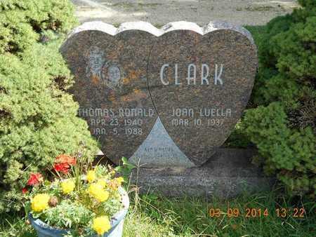 CLARK, THOMAS RONALD - Calhoun County, Michigan | THOMAS RONALD CLARK - Michigan Gravestone Photos