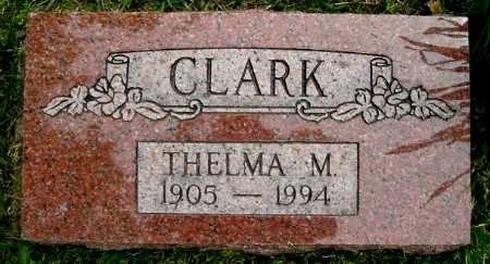 CLARK, THELMA M - Calhoun County, Michigan | THELMA M CLARK - Michigan Gravestone Photos