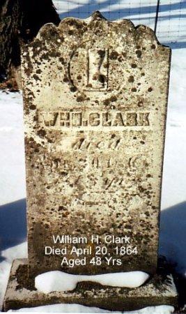CLARK, WILLIAM H. - Calhoun County, Michigan | WILLIAM H. CLARK - Michigan Gravestone Photos