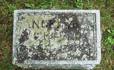 CUTLER, ANGELINE - Calhoun County, Michigan | ANGELINE CUTLER - Michigan Gravestone Photos