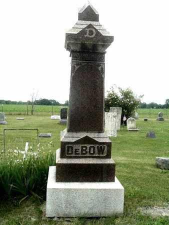 DEBOW, FAMILY MARKER - Calhoun County, Michigan | FAMILY MARKER DEBOW - Michigan Gravestone Photos