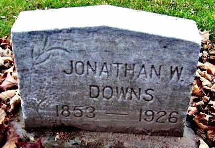 DOWNS, JONATHAN W - Calhoun County, Michigan | JONATHAN W DOWNS - Michigan Gravestone Photos