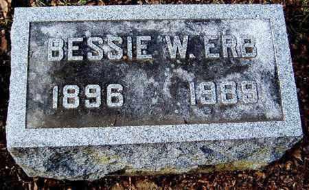 ERB, BESSIE W - Calhoun County, Michigan | BESSIE W ERB - Michigan Gravestone Photos