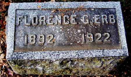 ERB, FLORENCE G - Calhoun County, Michigan   FLORENCE G ERB - Michigan Gravestone Photos