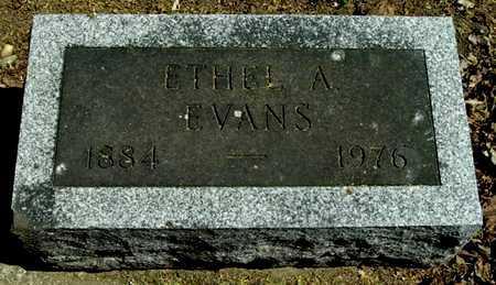 EVANS, ETHEL A. - Calhoun County, Michigan | ETHEL A. EVANS - Michigan Gravestone Photos