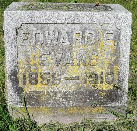 EVANS, EDWARD E - Calhoun County, Michigan | EDWARD E EVANS - Michigan Gravestone Photos
