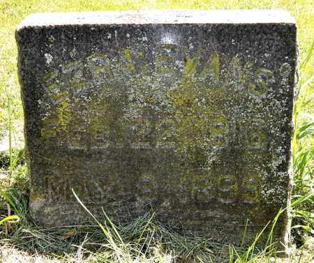 EVANS, EZRA - Calhoun County, Michigan | EZRA EVANS - Michigan Gravestone Photos
