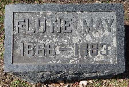 EVANS, FLUTIE M - Calhoun County, Michigan | FLUTIE M EVANS - Michigan Gravestone Photos