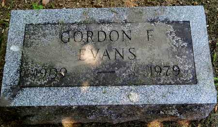 EVANS, GORDON - Calhoun County, Michigan | GORDON EVANS - Michigan Gravestone Photos