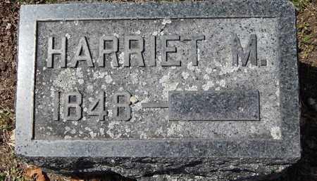 EVANS, HARRIET M - Calhoun County, Michigan | HARRIET M EVANS - Michigan Gravestone Photos